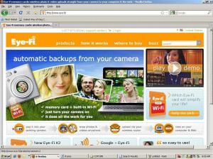 Eye-Fi home page