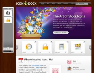 Icon Dock