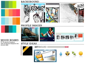 Digital Mood Board