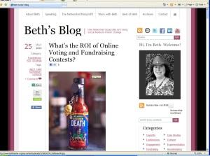 Beth's Blog