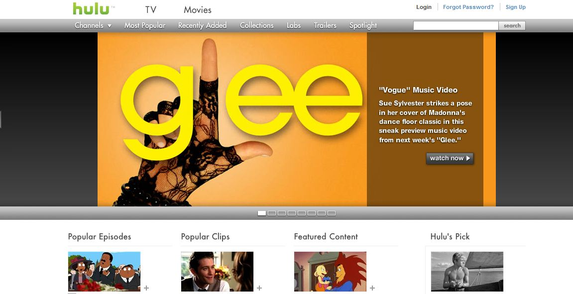 entertainment site hulu revisited web tools for the digital world