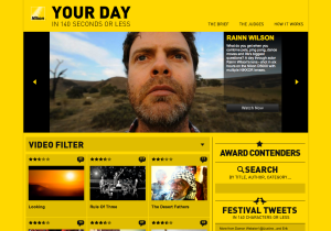 Nikon Festival Website