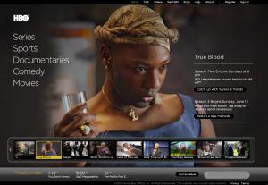 HBO website